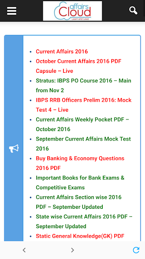 AffairsCloud Current Affairs for Govt Exams