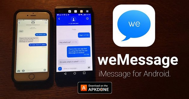 iMessage Chat poster