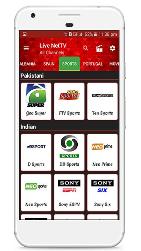 Live Net TV APK Download - Android Online TV streaming Apps
