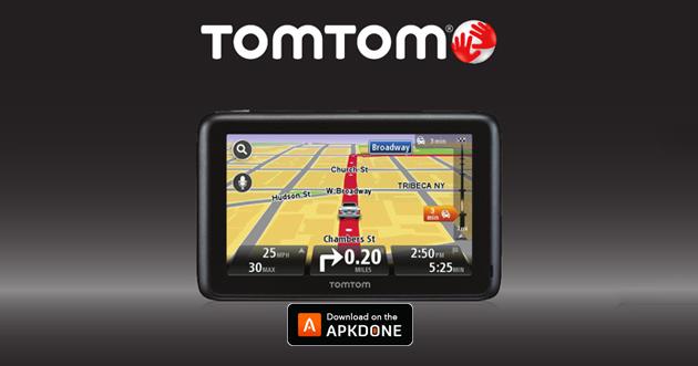 TomTom GPS Navigation Traffic poster
