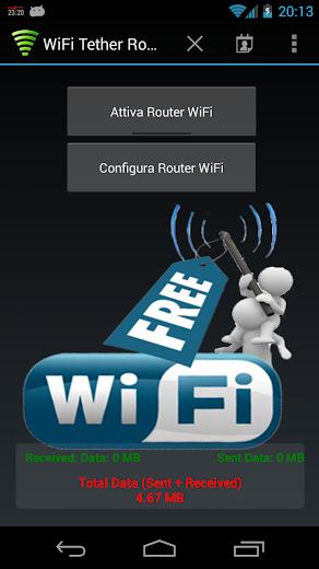WiFi Tether Router APK Full Patched for Android - Download Latest