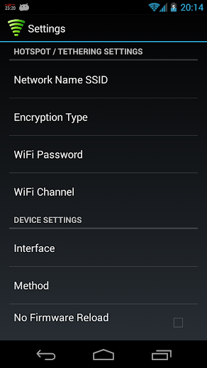 WiFi Tether Router APK Full Patched for Android - Download