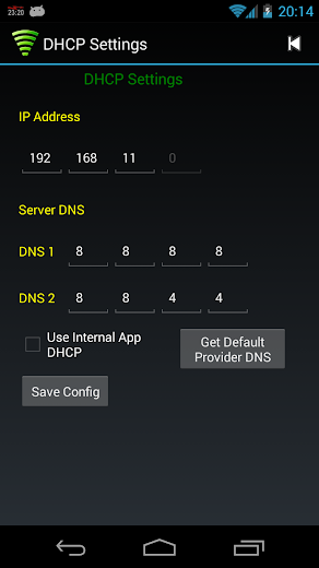 WiFi Tether Router Screenshot 3