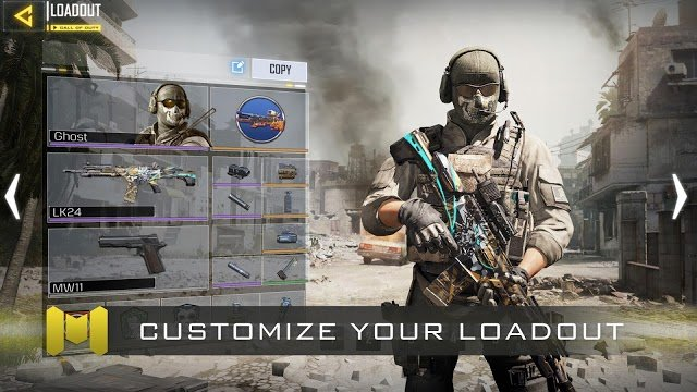 Call of Duty Mobile APK + OBB data file v1 0 6 Download for