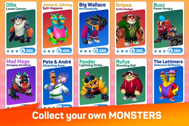 Monsters with Attitude