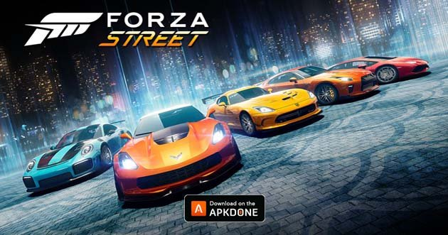 Forza Street poster