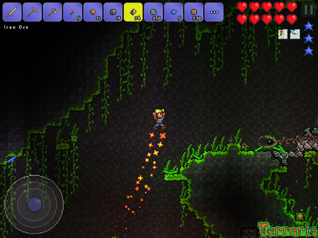 Terraria MOD APK 1 3 0 7 2 (Free Craft/Immortality) for