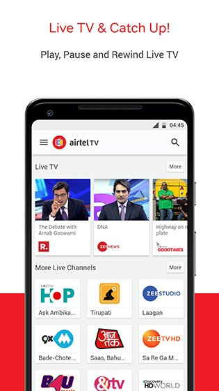 Airtel TV APK 1 17 5 Download - Android Live TV, Movies,TV Shows Apps