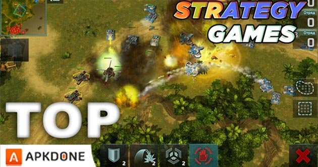 Best strategy games for Android poster