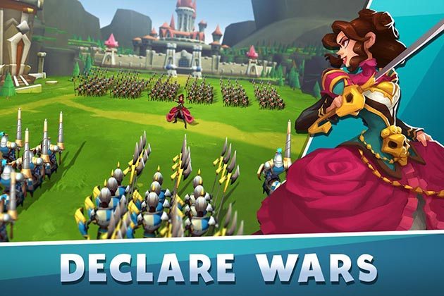 Brave Conquest MOD APK + OBB Data v1 4 0 (One Hit Skill) for