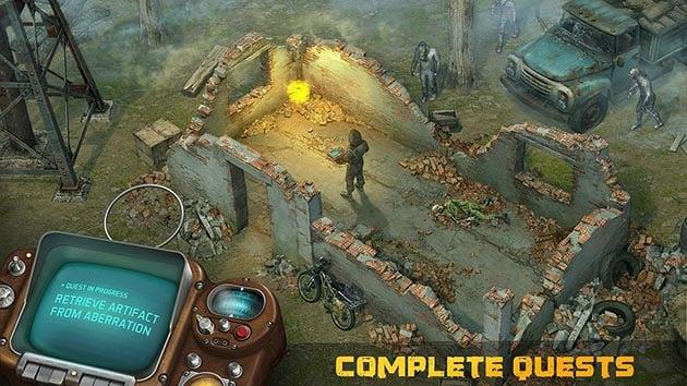 Dawn of Zombies MOD APK + OBB Data 2 25 (Free Craft/Unlocked