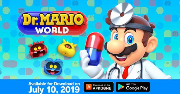 Dr. Mario World poster