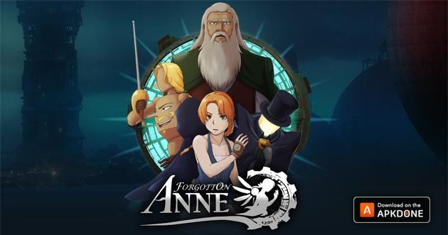 Forgotton Anne poster