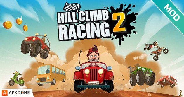 Hill Climb Racing 2 poster