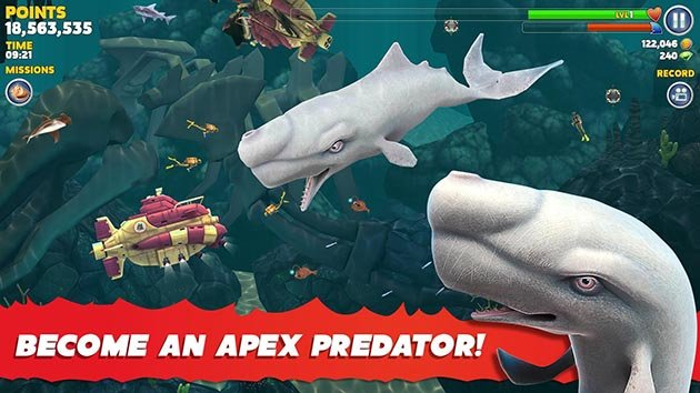 Hungry Shark Evolution MOD APK 6 8 2 (Unlimited Coins/Gems