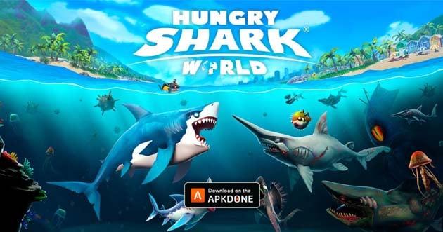 Hungry Shark World MOD APK 3 5 0 (Unlimited Diamond/Coin