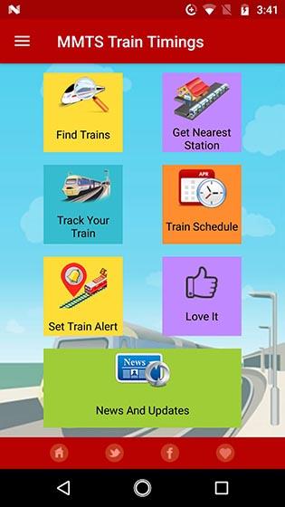 MMTS Train Timings
