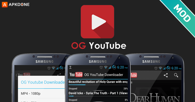 OG YouTube APK 12 43 52 for Android - Free download