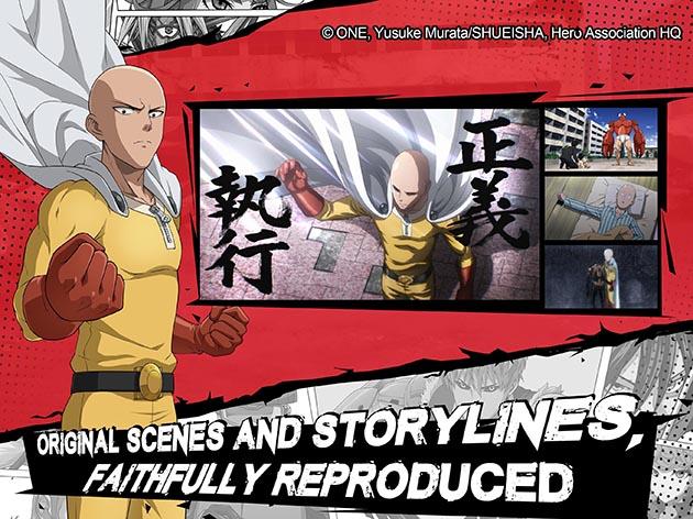 One Punch Man: Road to Hero screenshot