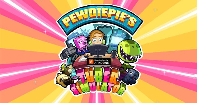 PewDiePie's Tuber Simulator MOD APK v1 45 0 (Unlimited Money