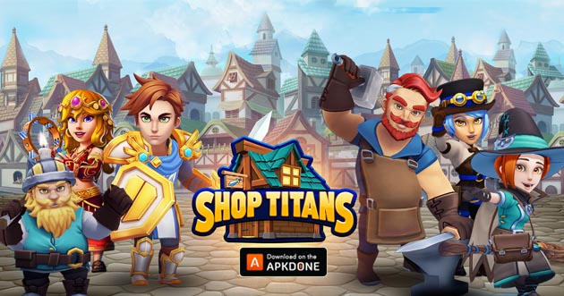 Shop Titans: Design & Trade poster