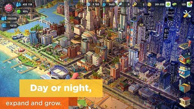 Captura de pantalla de SimCity BuildIt