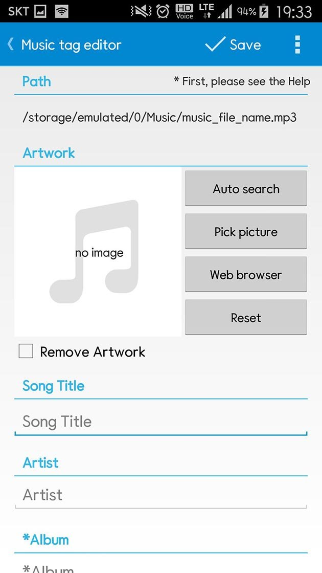 Star Music Tag Editor