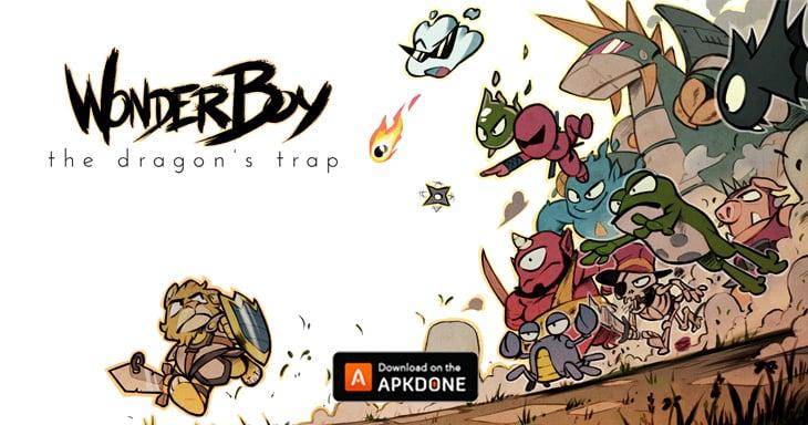 Wonder Boy: The Dragons Trap poster
