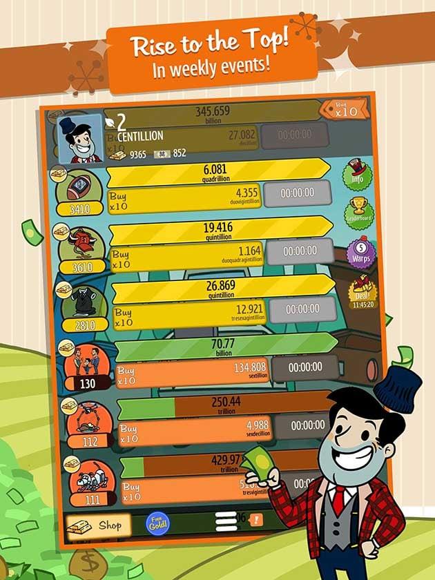 AdVenture Capitalist screenshot