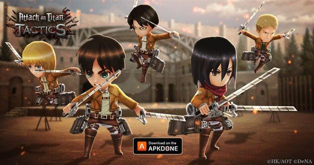 Attack On Titan Tactics APK 1 4 12 Download - Android