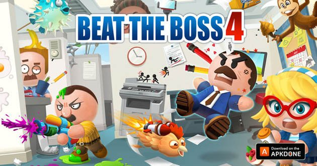Beat the Boss 4 poster