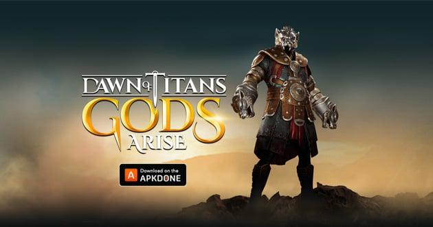 Dawn of Titans MOD APK + OBB Data 1 33 1 (Unlimited Gems