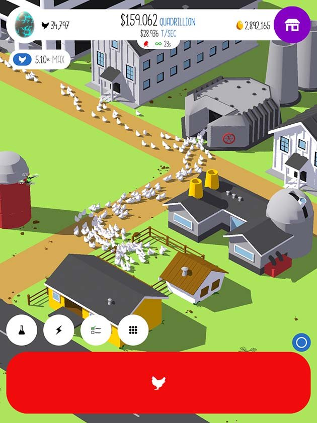 Egg Inc screenshot