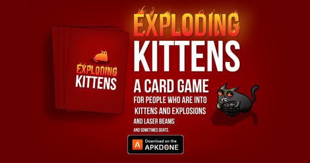 Exploding Kittens Official poster