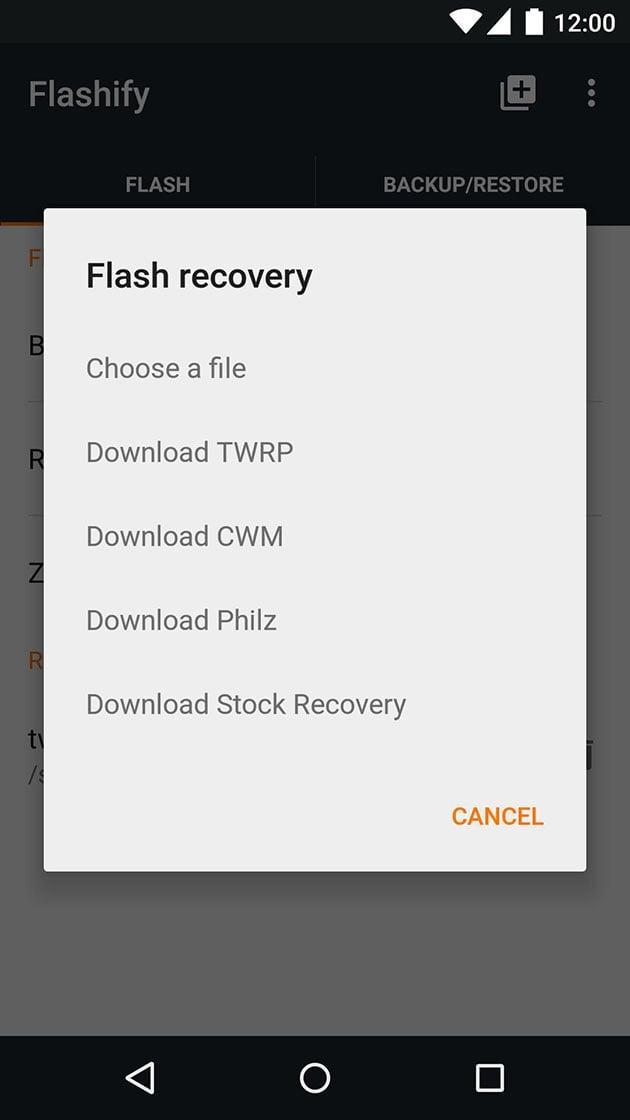 Flashify screenshot