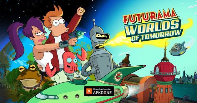 Futurama: Worlds of Tomorrow poster