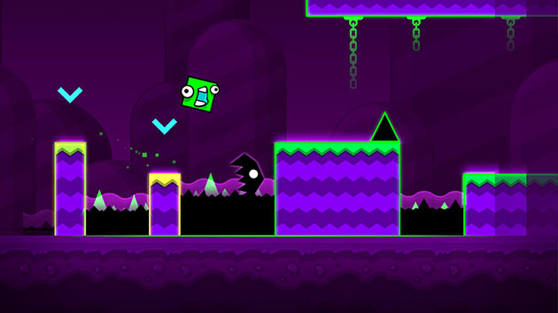 Geometry Dash World screenshot