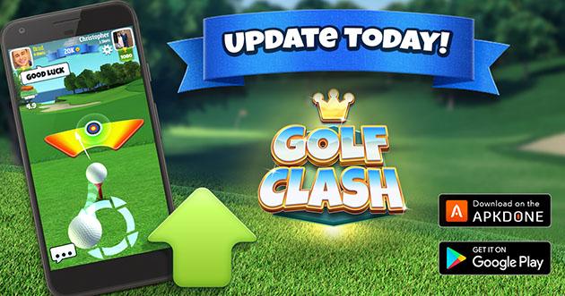 Golf Clash poster