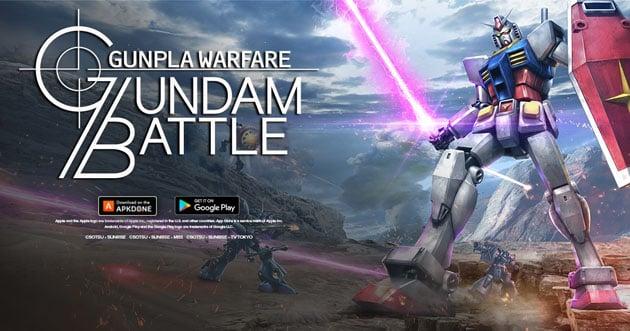 Gundam Battle: Gunpla Warfare poster