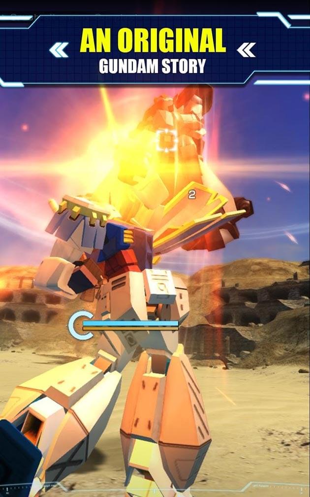 Gundam Battle Gunpla Warfare screenshot