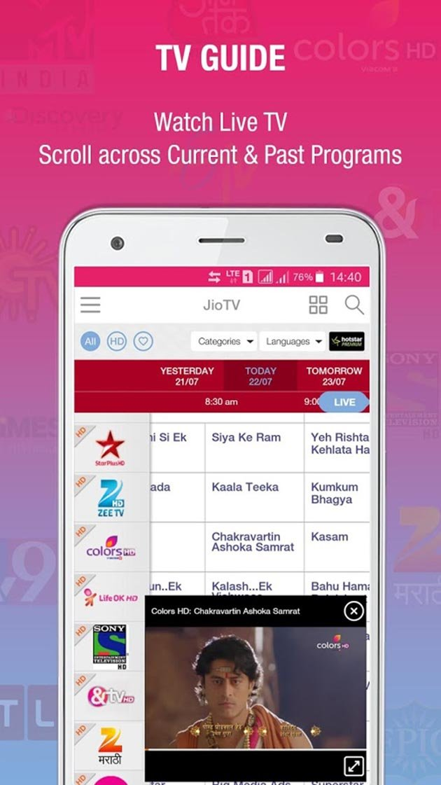 Modded Jio Tv Apk