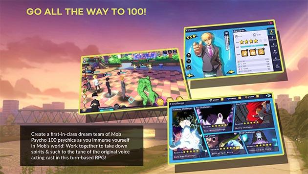 Mob Psycho 100 Psychic Battle screenshot