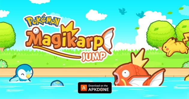 Pokémon Magikarp Jump poster