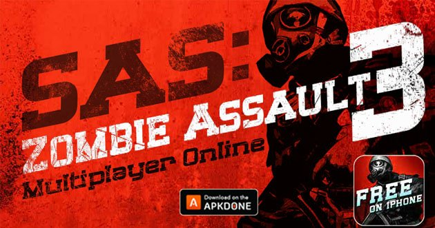 SAS: Zombie Assault 3 MOD APK 3 11 (Unlimited Money
