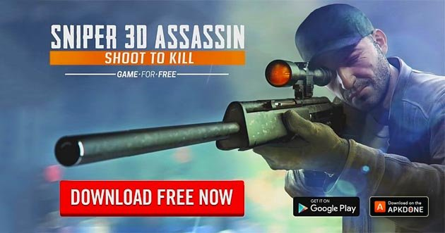 Sniper 3D Gun Shooter MOD APK 3 0 3 (Unlimited Golds) for Android