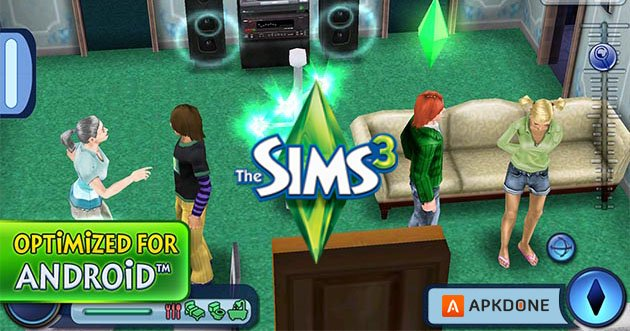 The Sims 3 poster