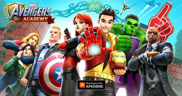 MARVEL Avengers Academy MOD APK v2 15 0 [Free Store] download