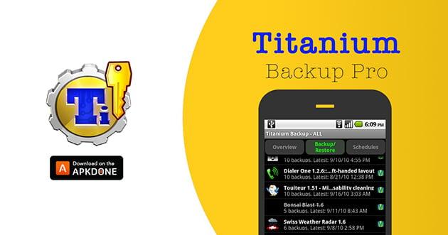 Titanium Backup Pro poster