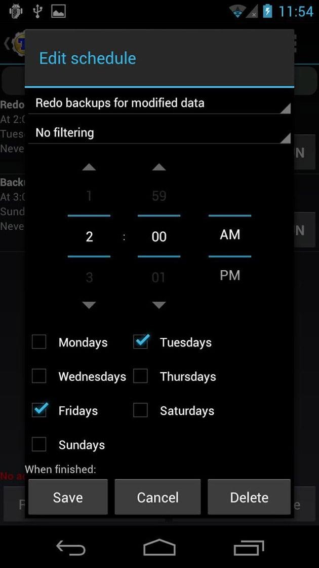 Titanium Backup Pro screenshot