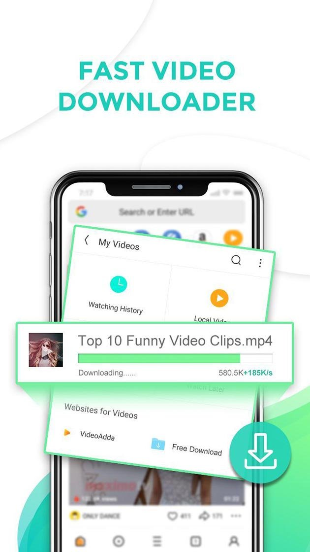 UC Browser Mini MOD APK 12 11 9 1201 (AD Free) Download for